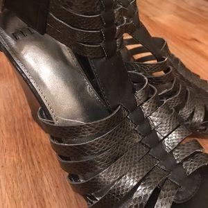 Amazingly Priced & Chic Black Elle Sandal Wedges